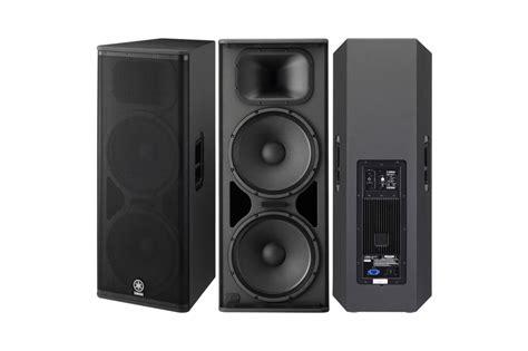Speaker Yamaha Dsr 118 subwoofer dsr118w yamaha