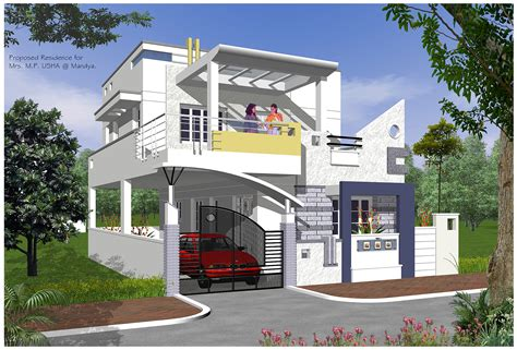 exterior designs of house indian duplex house exterior designs images