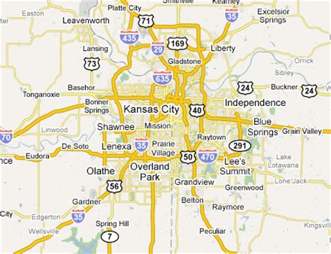 map of kansas city area kansas city metro area web design development firms on