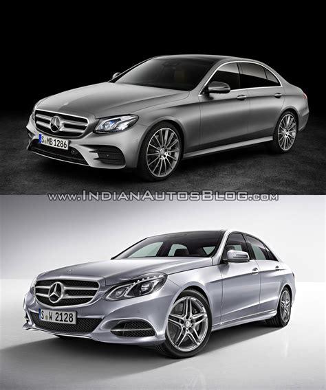 c c e 2016 mercedes e class w213 vs mercedes e class w212