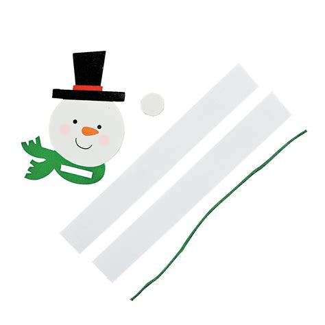 paper chain snowman ornament craft kit trading