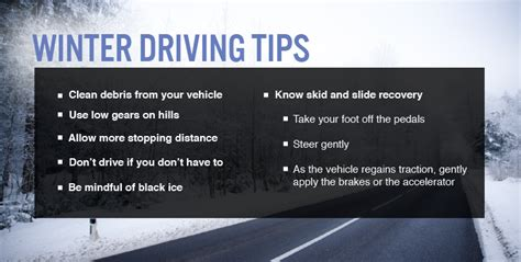 8 Tips On Driving Safe In Snow by Winter Driving Tips Bridgestone Tires
