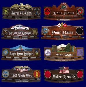 Cool Desk Name Plates Custom Wooden Desk Nameplates Manufacturer American