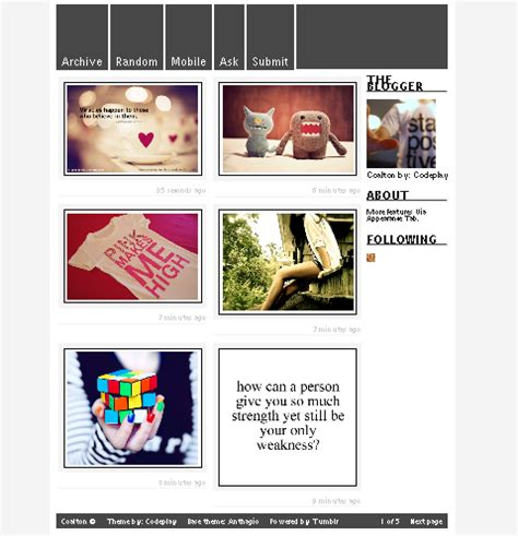 tumblr themes and layouts trending tumblr