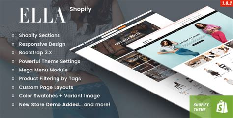 shopify themes ella 12 best responsive shopify themes for bakery coffee shop