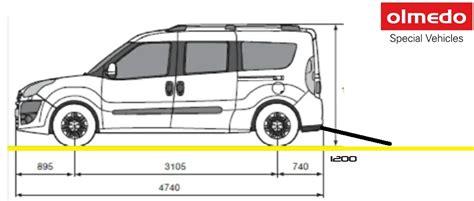 fiat scudo dimensioni interne fiat scudo panorama dimensioni interne