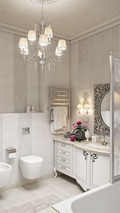 3d interior design bathrooms neoclassical bathroom neoclassical white on behance