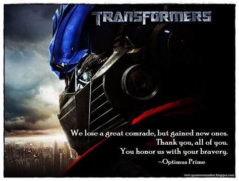 optimus prime quotes 20 best transformers quotes images on