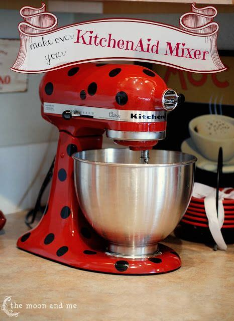 spray paint kitchenaid mixer throwback thursday an alli event