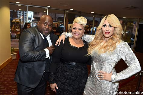 what is the name of red is tamela mann hair color the manns with keke talking with tami