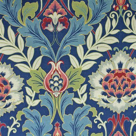 house of fabrics upholstery fabrics kelmscott fabric thistle blue k1368 chess elm house