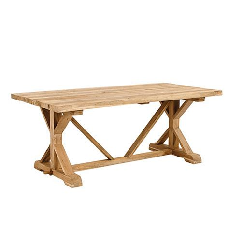 ballard designs dining table x base dining table look 4 less and steals and deals