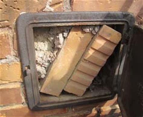 Fireplace Clean Out by Chimney Ash Clean Out Clogged As Found During A Horn Lake