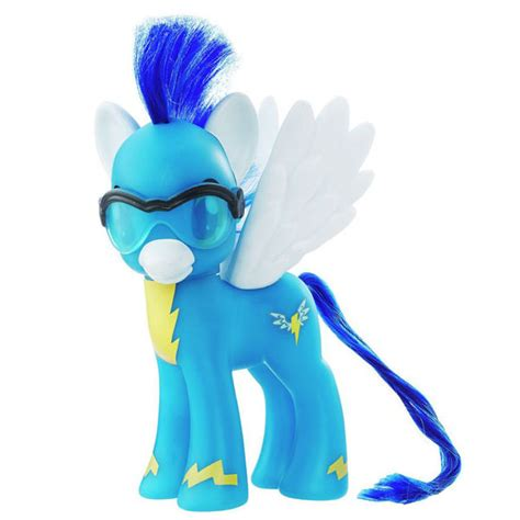 Color Blind Photos My Little Pony Wonderbolts 6 Pack Soarin Brushable Pony