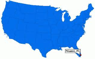 where is miami florida located on the map miami florida city information epodunk