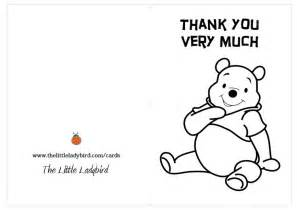 thank you coloring pages greeting card thank you winnie the pooh coloring pages