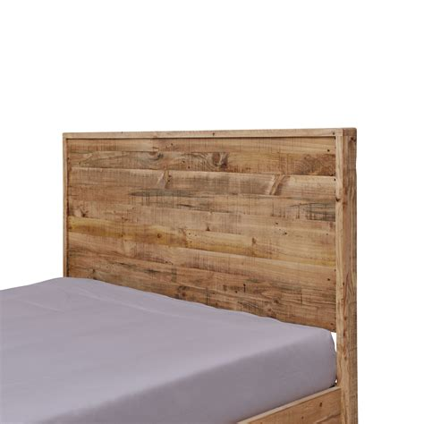 recycled wood bed frames portland recycled solid pine rustic timber king