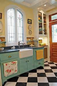 Checkerboard kitchen floors old house online old house online