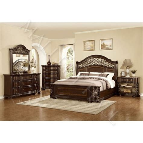 Ebay Bedroom Sets by Wrought Iron Trimmed Panel Bedroom Set 5