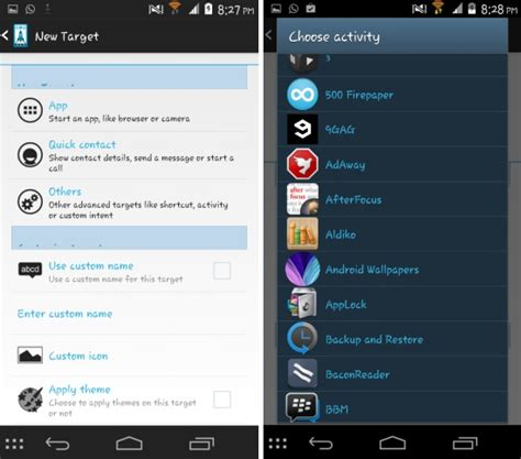 app launcher for android access favorite apps contacts with slide launcher for android