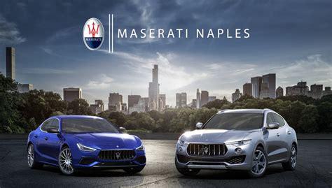 Maserati Naples by Maserati Dealership Sporty Yet Exclusive Vehicles