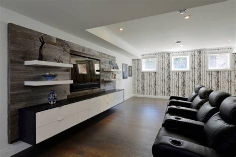 wooden floating shelves   living room home