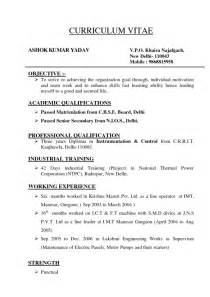 Different Types Of Resumes Samples – 9 best different types of resumes formats sample   Best
