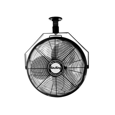 high cfm outdoor ceiling fan air king 9718 na 18 quot 3190 cfm 3 speed industrial grade