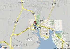 Niceville Florida Map by Map Of Quality Inn Niceville Niceville