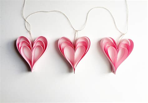 valentine s day pink heart decorations garland wedding