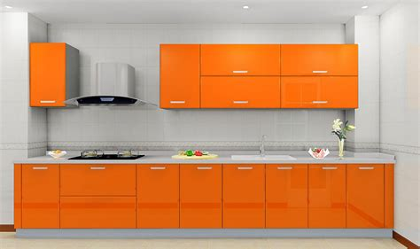 Orange Kitchen Cabinets | orange kitchen walls ideas quicua com