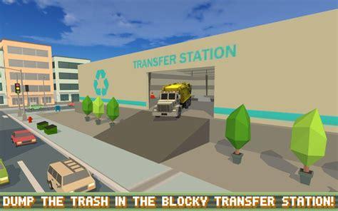 download blocky roads full version mod apk blocky garbage truck sim pro apk v1 0 mod money hit maxz