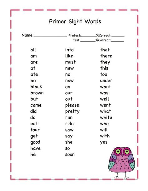 best 25 sight word worksheets 25 best images about for school on