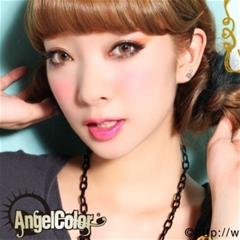 geo magic color 3tone brown colored contact lenses