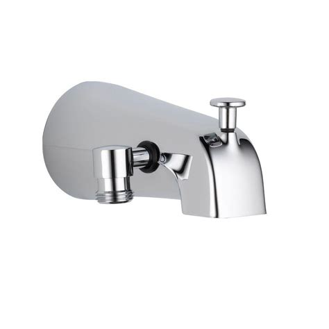 delta 5 38 in pull up diverter tub spout in chrome
