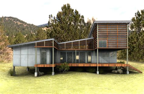 Green Home Designs Eco Friendly House New Eco House Plan