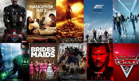 famous movies 2011 summer movie hits misses