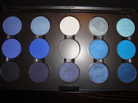 light blue eyeshadow palette mac eye shadow palettes by tiffany chadnisstyle