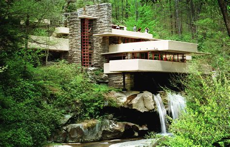 frank lloyd wright s masterpiece fallingwater wright s fallingwater other works placed on landmarks