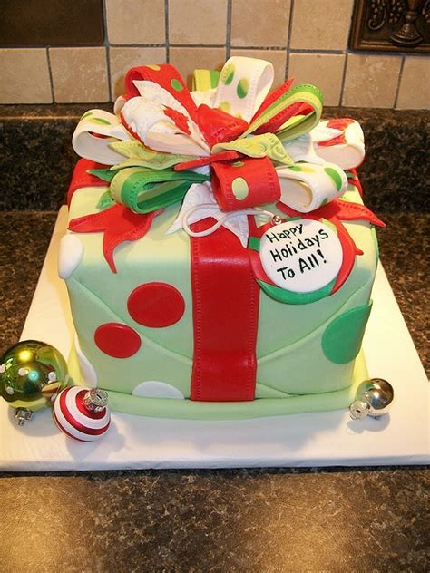 christmas gift box fondant cake best 25 present cake ideas on present cake fondant cake and