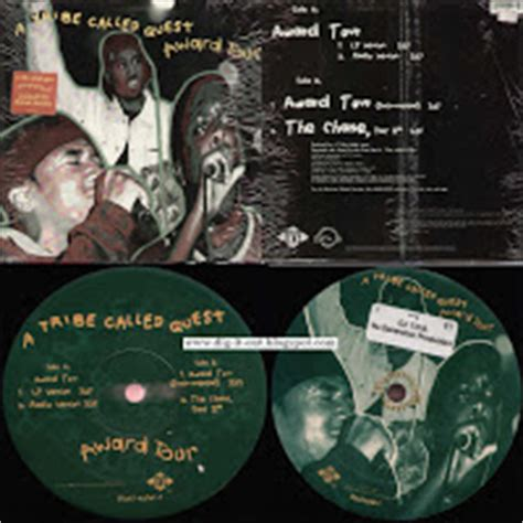 award tour tribe dig it out a tribe called quest