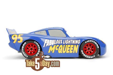 Disney Cars 3 Fabulous Lightning Mcqueen No 14 Mini Racers Mattel Ori disney pixar cars 3 1 24 fabulous lightning mcqueen is fabulouso take five a day