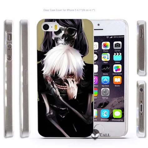 Tokyo Ghoul Comic Iphone 5 5s Se 6 Plus 4s Samsung Htc Sony Cases 3 anime tokyo ghouls transparent phone cover coque for apple iphone 4 4s 5 5s se 5c 6 6s