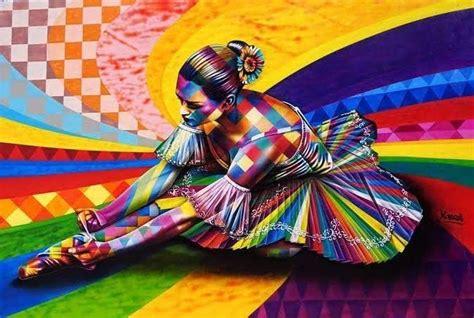 colorida linda incrivelmente cheia de detalhes