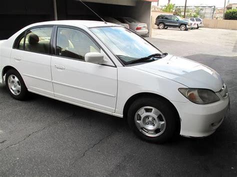 2004 Honda Civic 4 Door by Find Used 2004 Honda Civic Hybrid Sedan 4 Door 1 3l In Los