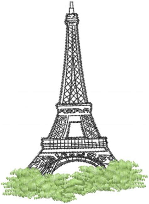 28 Eiffel Tower Machine Embroidery Designs Applique Patterns In 7