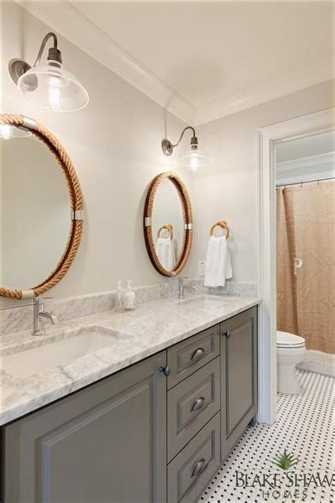 bathroom oval mirror rope bathroom mirrors design ideas
