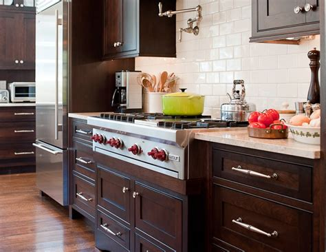chocolate brown kitchen cabinets chocolate brown cabinets transitional kitchen