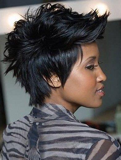 faux mohawk for black women pin by j esparza lowe on mohawk faux mohawk undercut