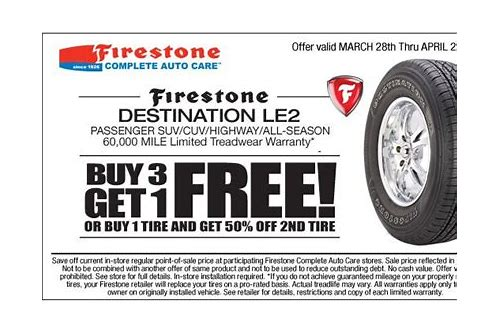 firestone locations coupons